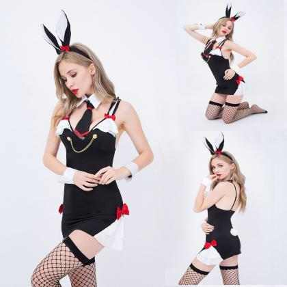 European and American Rabbit girls ..