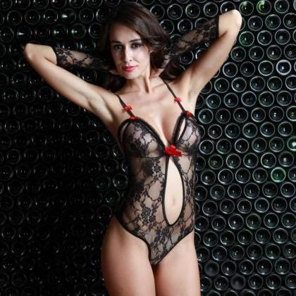 Women Bodystocking sexy costumes Bo..