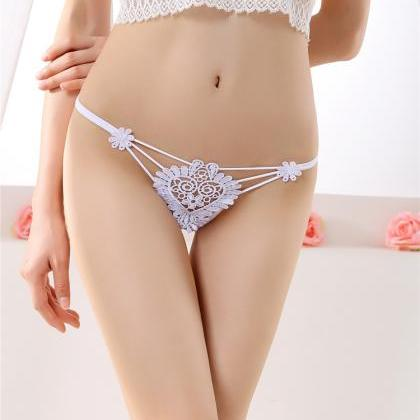 Exquisite embroidery Sexy transpar..