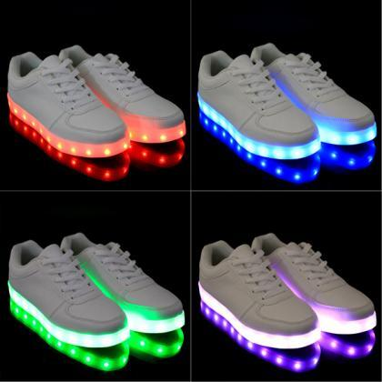 Athleisure 7-Colour LED-Embedded Sn..