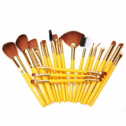 New Makeup 19pcs Brushes Set Powder..