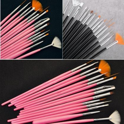 15pcs Professional Nail Art Brush S..