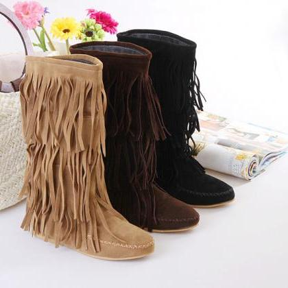 Hot Style Multi-Layered Tassel Leis..