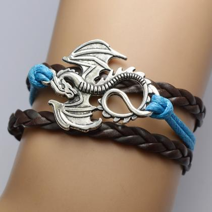 Personality Dragon Multilayer Woven..