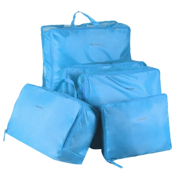 Practical 5 Sizes Travel Luggage Bag Set Packing Organization Bag Kit