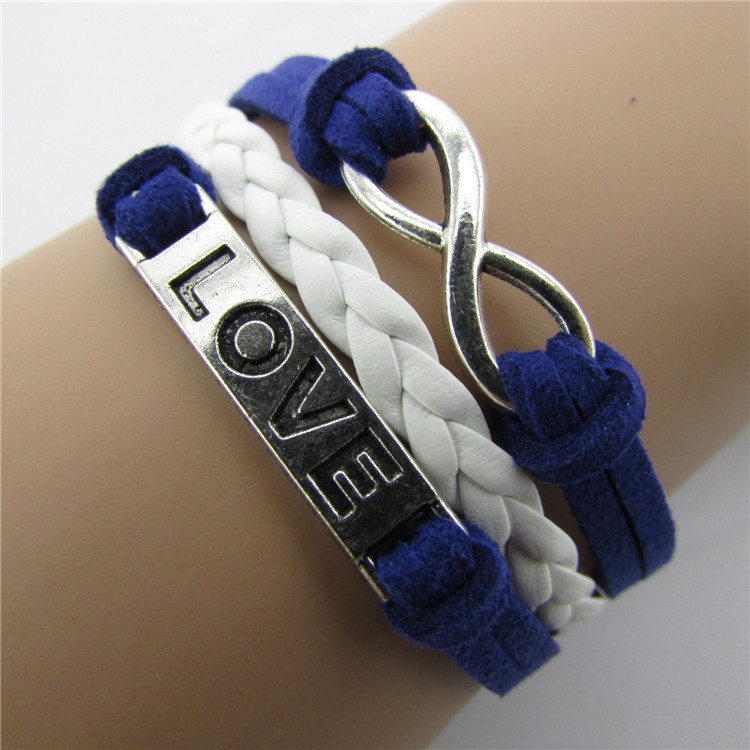 Joker LOVE Number Eight Multi-layer Bracelet