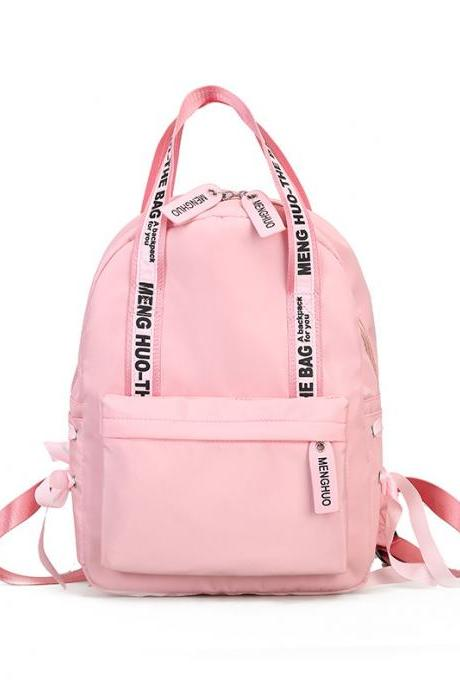 Stylish Letter Decoration Women Backpack