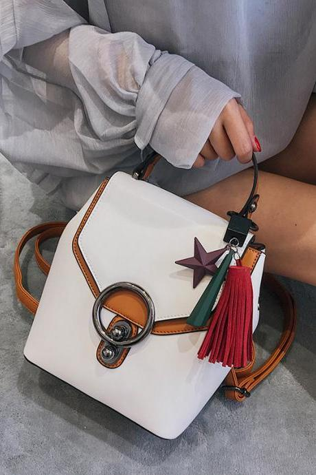 Multi-Function Delicate Pendant Mini Backpack