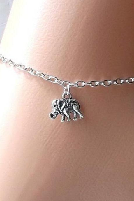 Simple Lucky Elephant Anklets