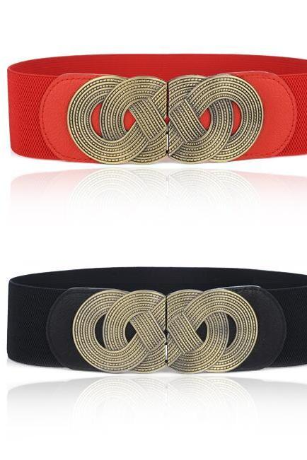 Chinese Knot Elastic Belts