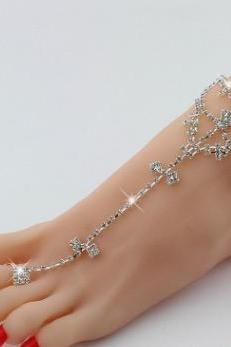 Even the drill toe ring Anklet Anklet