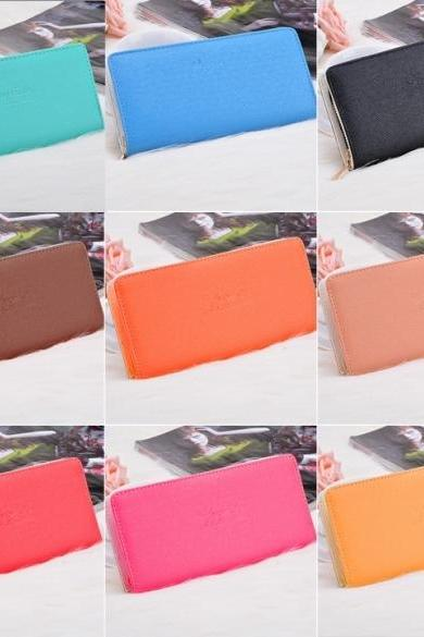 Good Quality New Women Lady Clutch Bag Hand Bag Fashion Trench Wallet Purse