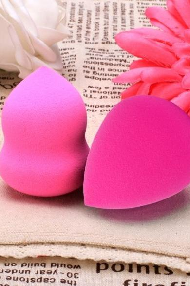 New Fashion Wet And Dry Double Use Makeup Foundation Sponge Blender Blending Puff Flawless Powder Smooth Beauty With Box
