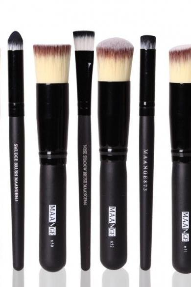 Pro Makeup 8pcs Brushes Set Powder Foundation Eyeshadow Eyeliner Brush Tool Hot