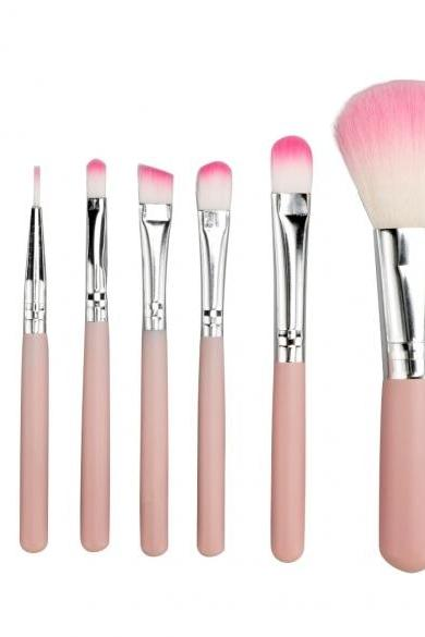 7PCS Professional Makeup Brush Set Cosmetic Brushes Eye And Face Makeup Brush Tool