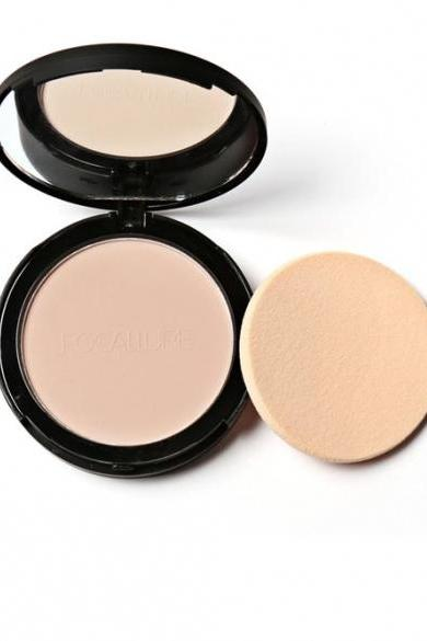 3 Colors Face Powder Bronzer Highlighter Shimmer Face Pressed Powder Contour Makeup Cosmetics With Mirror And Puff