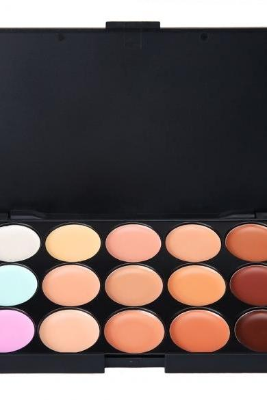 Kissemoji 15 Color Concealer Makeup Palette
