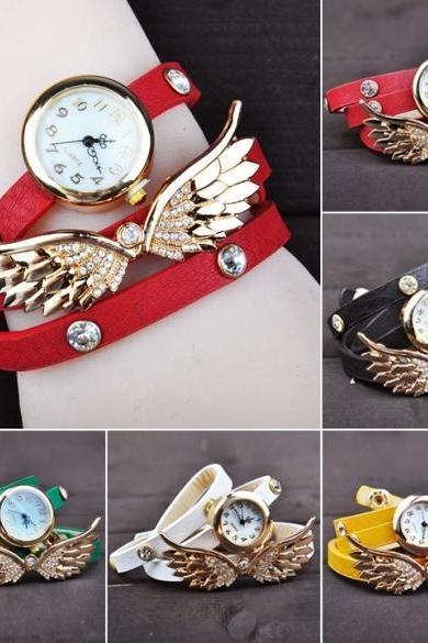 Wing Bracelet Watch Quartz Movement Wrist Women Watch