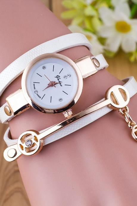 Elegant Fashion Leather Watch