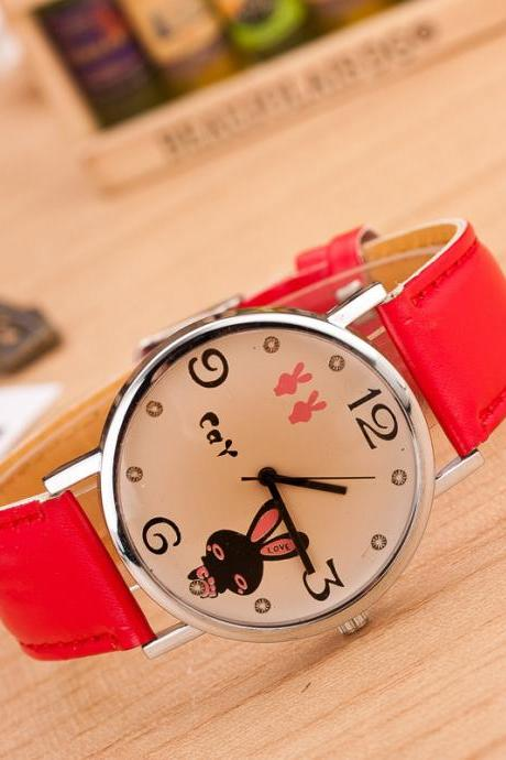 Sweet LOVE Miffy Ears Watch