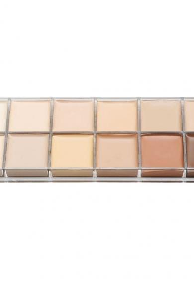 12 Colors Natural Contour Face Cream Makeup Cosmetic Kit Concealer Palette