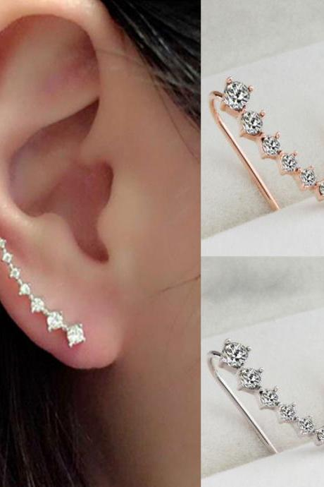 Fashion 7 Diamond Beautiful Earring