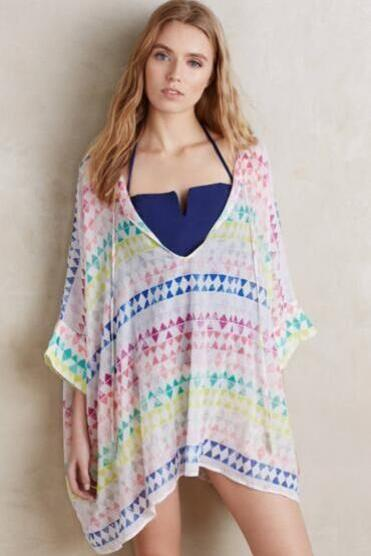 Chiffon Loose Beach Shawl Bikini Cover Ups