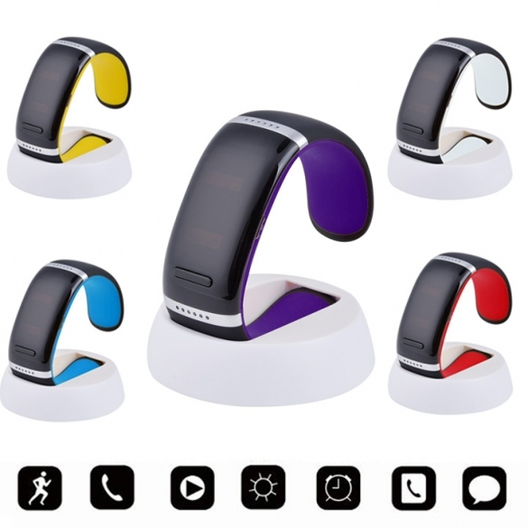 Wrist SMART Bracelet Watch Phone Bluetooth For IOS Android Samsung iPhone White