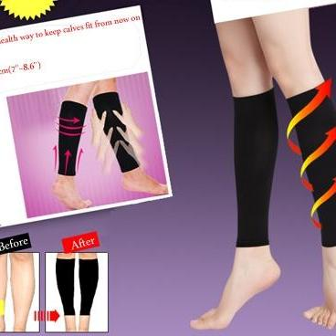 Thin Leg Calves Shaper Burn Plus Size Socks Compression Stovepipe Warmer