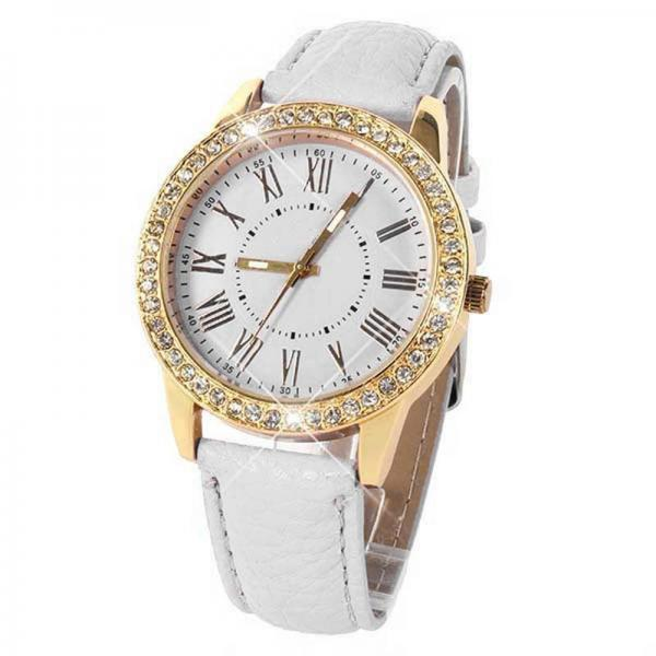 Fashion Roman Crystal Quartz Watch
