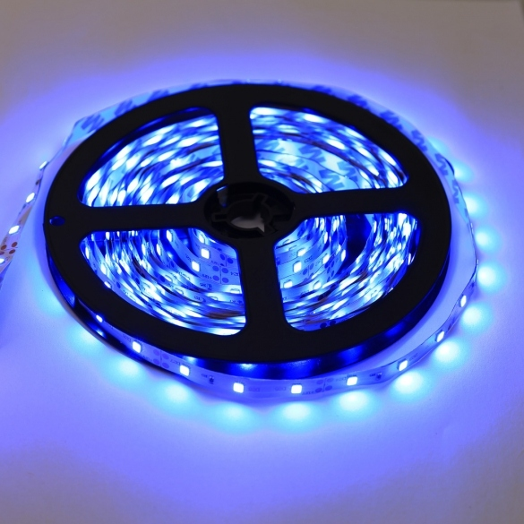 5m 3528 SMD RGB 12V 300 LEDs Strip Light Waterproof Flexible 6 Colors